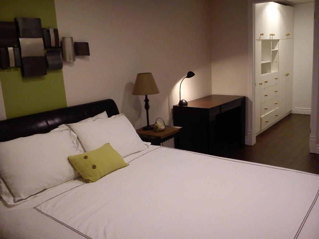 A bed or beds in a room at Appartement Bellevue