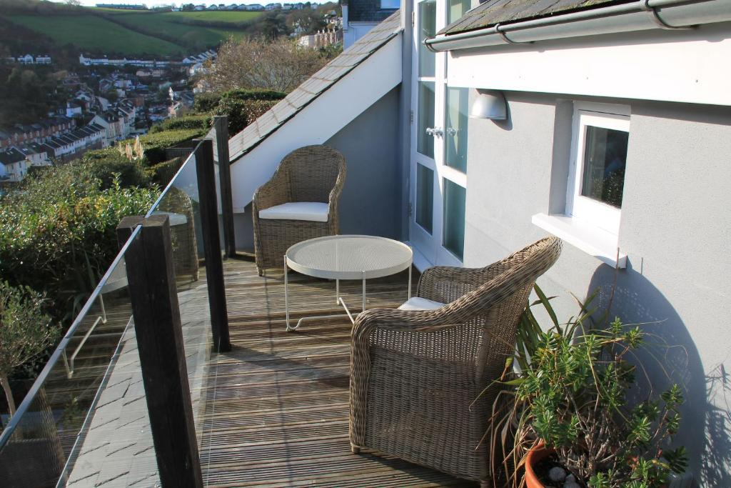 A balcony or terrace at Compass Rose
