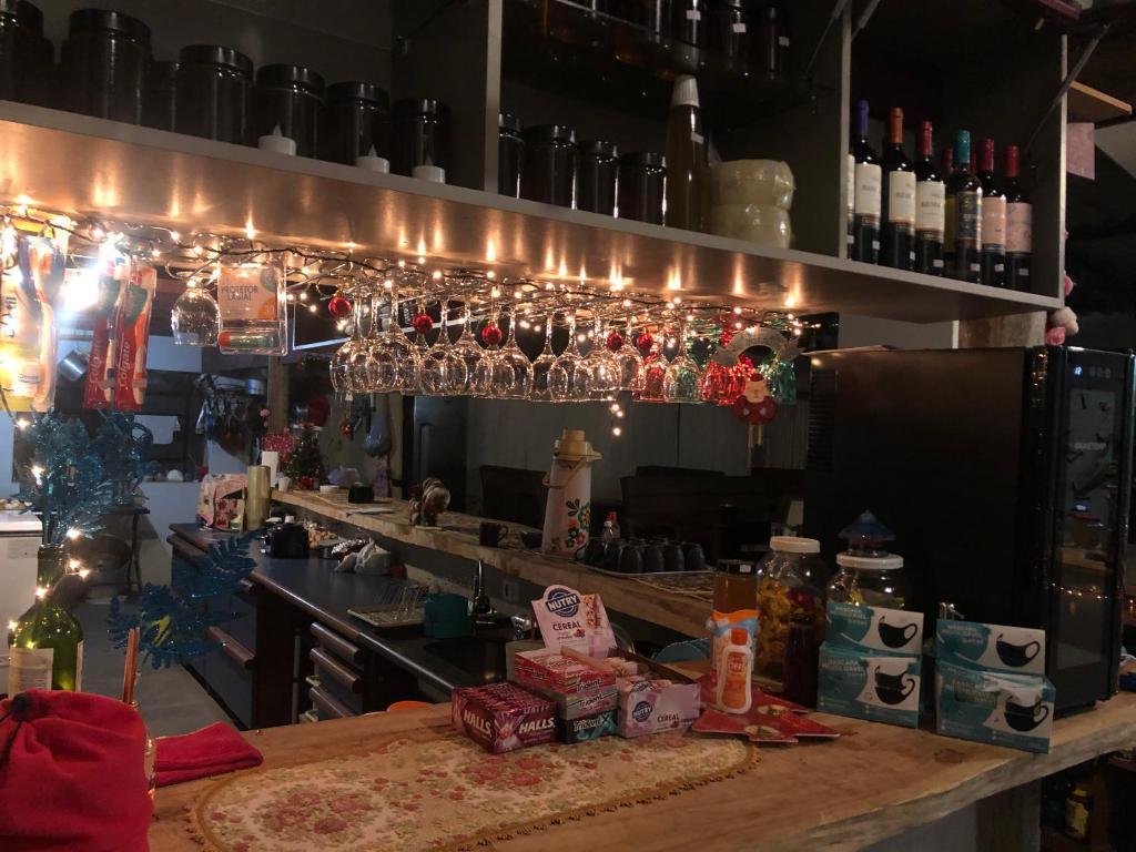O lounge ou bar de Hostel Picus