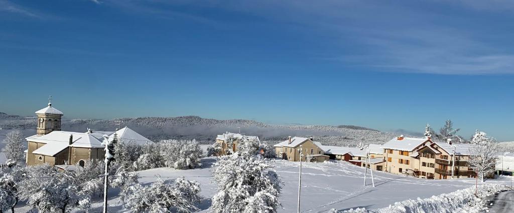 Le Relais Nordique during the winter