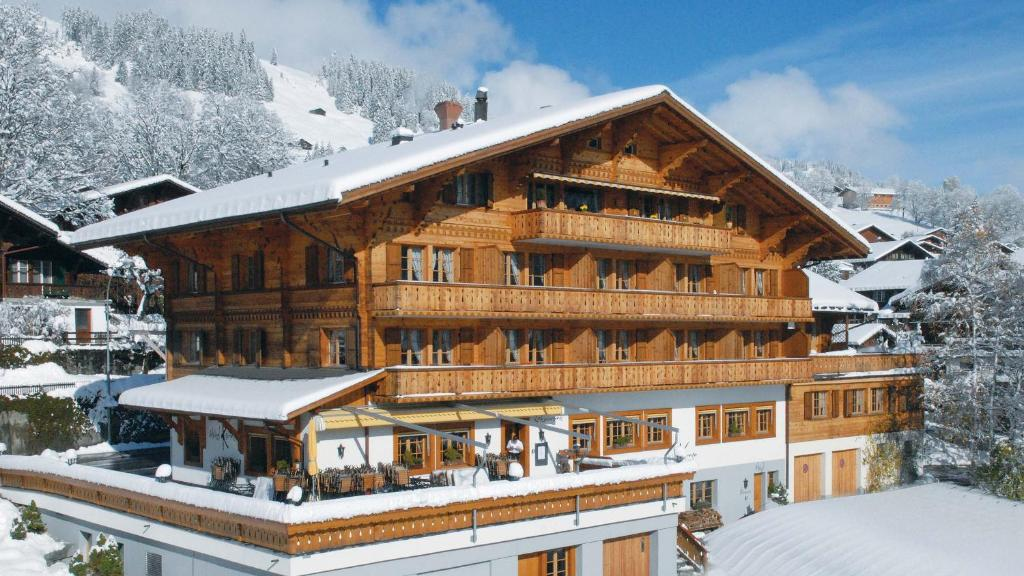 Hotel Kernen during the winter