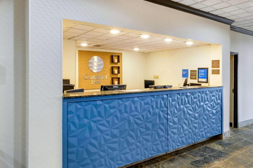 The lobby or reception area at Comfort Inn Monticello