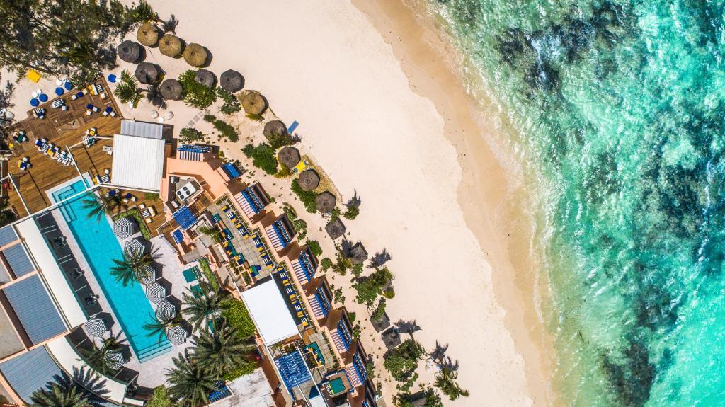 A bird's-eye view of SALT of Palmar, an adult-only boutique hotel