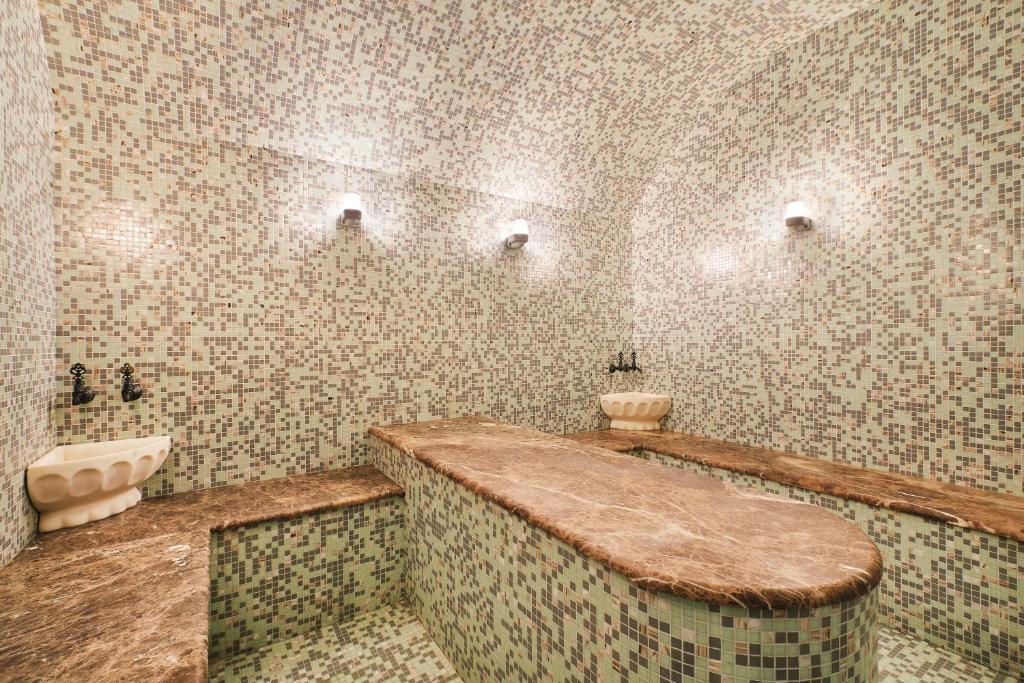 Ванная комната в Отель Ремезов