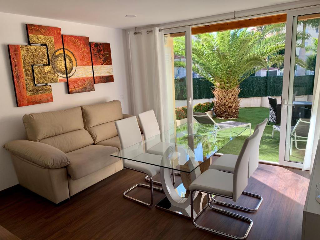 Zona de estar de Apartments Fanabe
