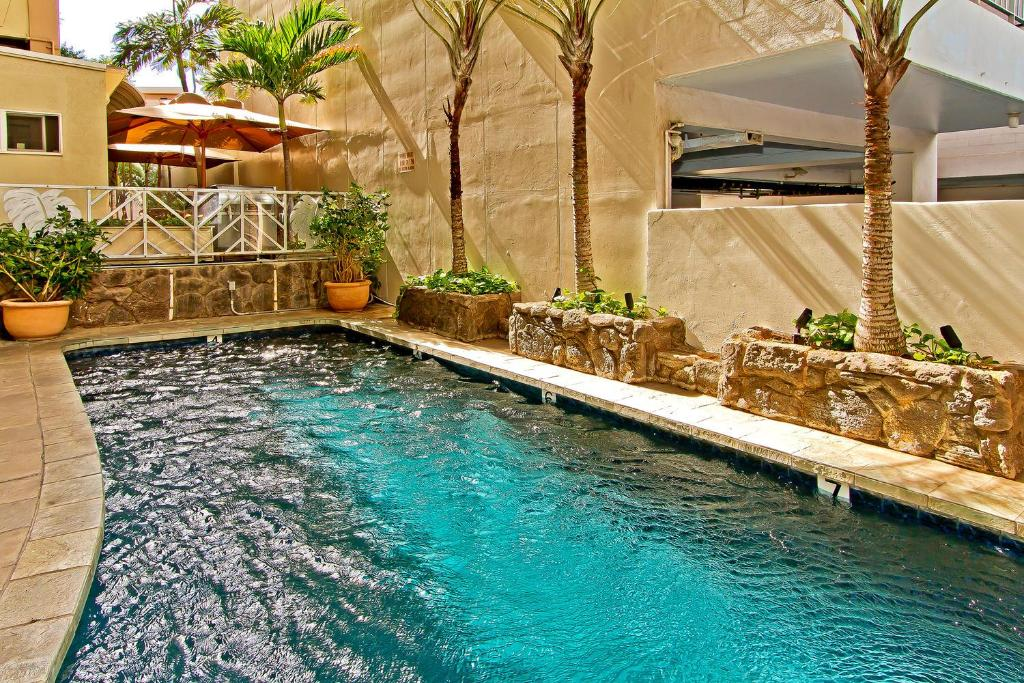 The swimming pool at or near The Equus