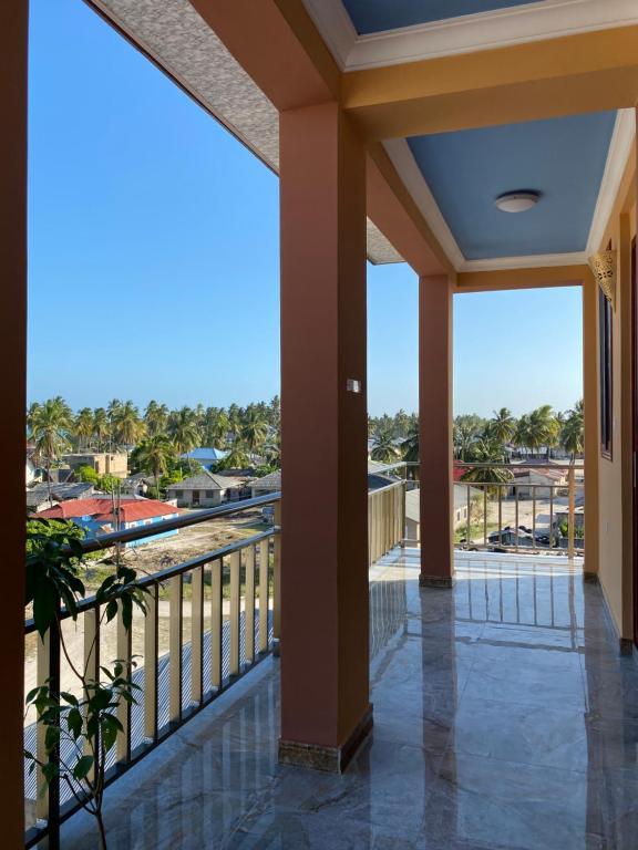 Ein Balkon oder eine Terrasse in der Unterkunft Sun Tower live the best of Paje
