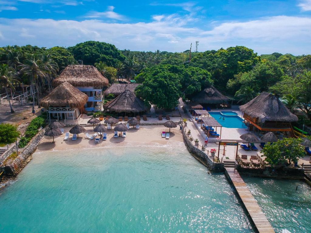 A bird's-eye view of Hotel Isla del Sol