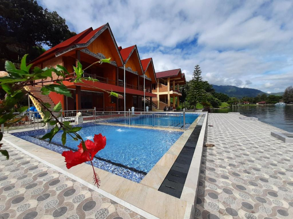 The swimming pool at or near Mas Cottages