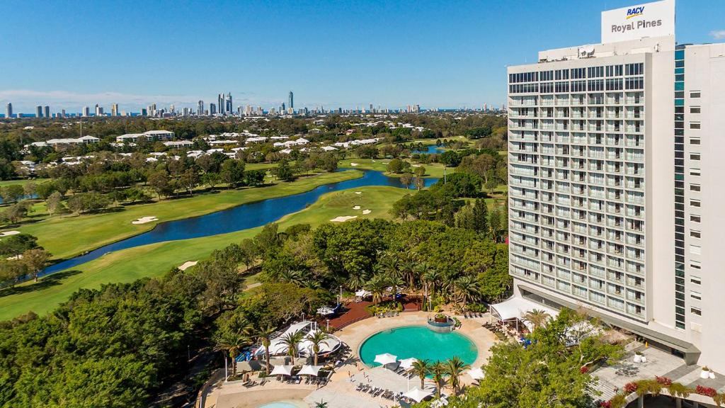 A view of the pool at RACV Royal Pines Resort Gold Coast or nearby