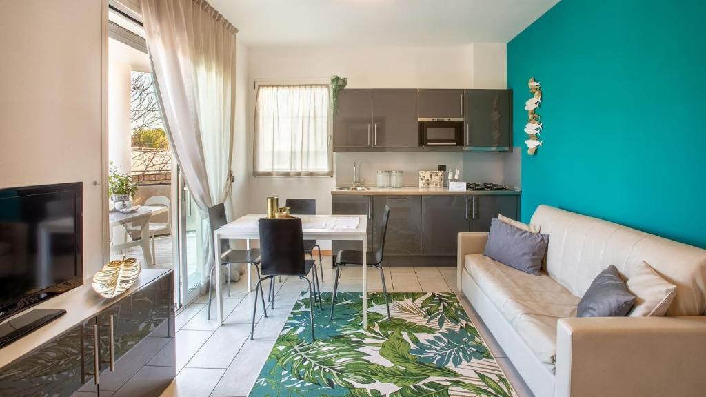 Area soggiorno di Residenza D-Place Ponchielli