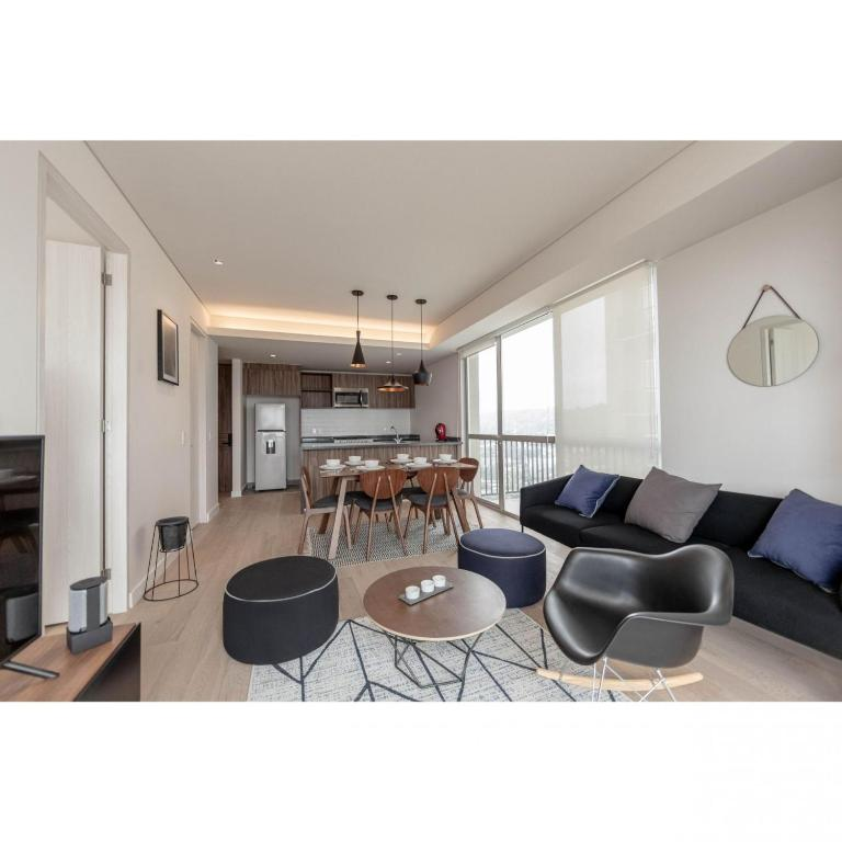One Bedroom with Spa & Gym at Santa Fe