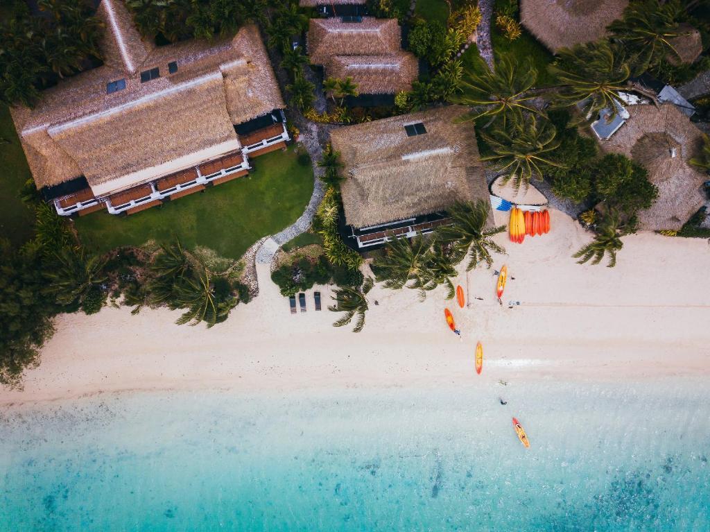 A bird's-eye view of Pacific Resort Rarotonga