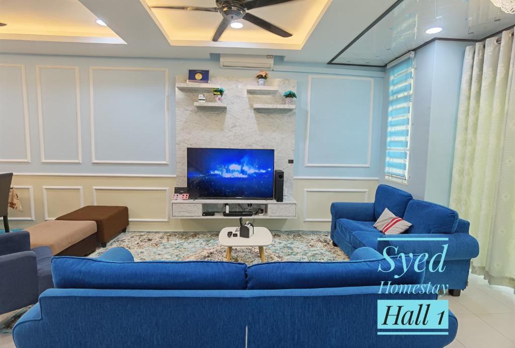 A seating area at Syed Homestay Arau