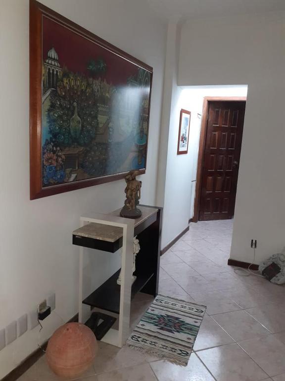 A television and/or entertainment centre at Apartamento centro salvador