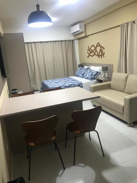 A seating area at Edificio Time Apto 625