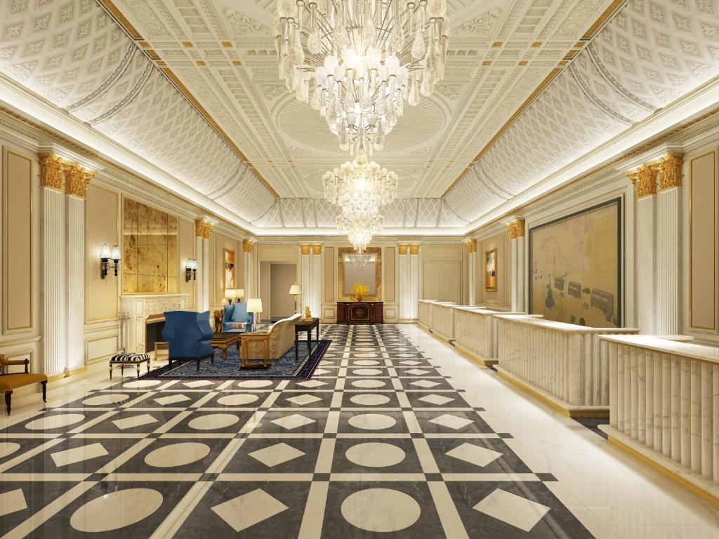 The lobby or reception area at Conrad Macao