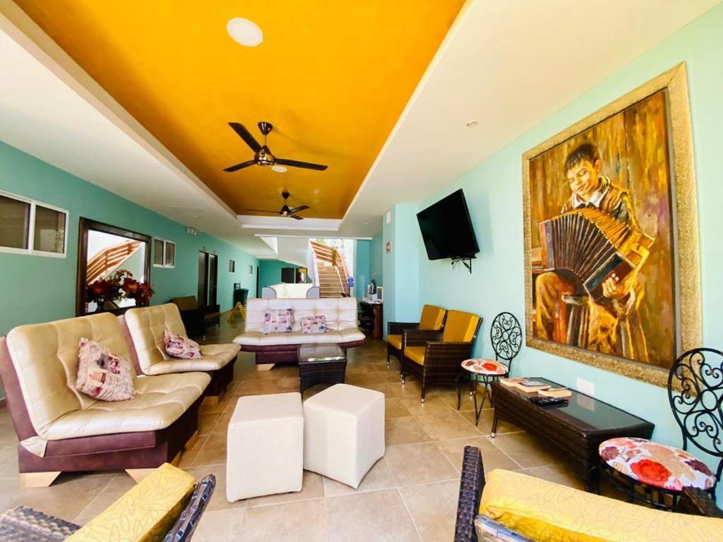 Zona de estar de Ayenda El Viajero #2