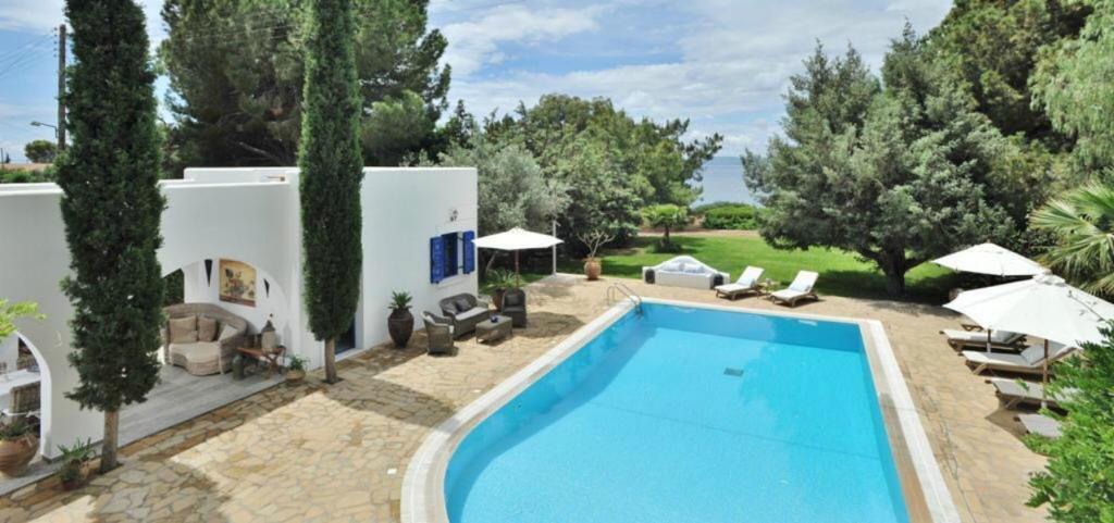 Πισίνα στο ή κοντά στο Blue Sapphire Villa