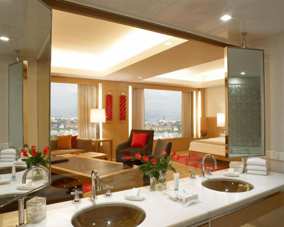 A restaurant or other place to eat at Trident Nariman Point