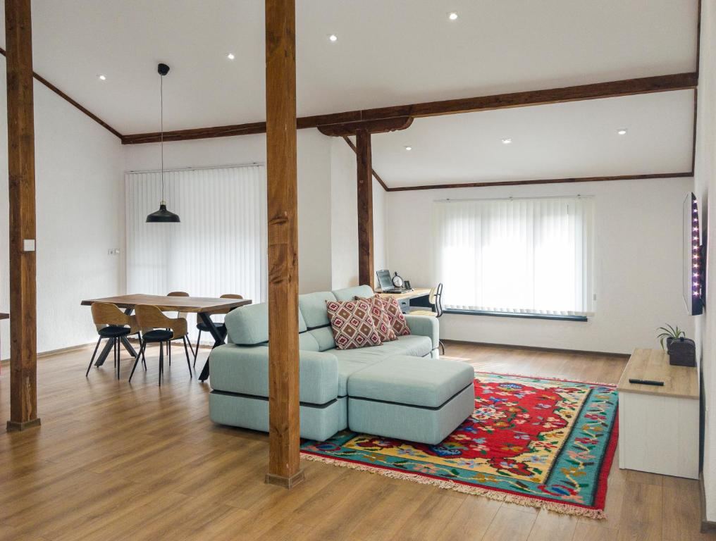 Stylish loft studio with great view to Ardino