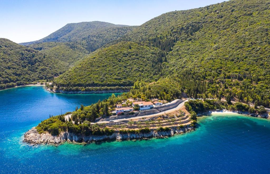 Άποψη από ψηλά του Villa Pachino
