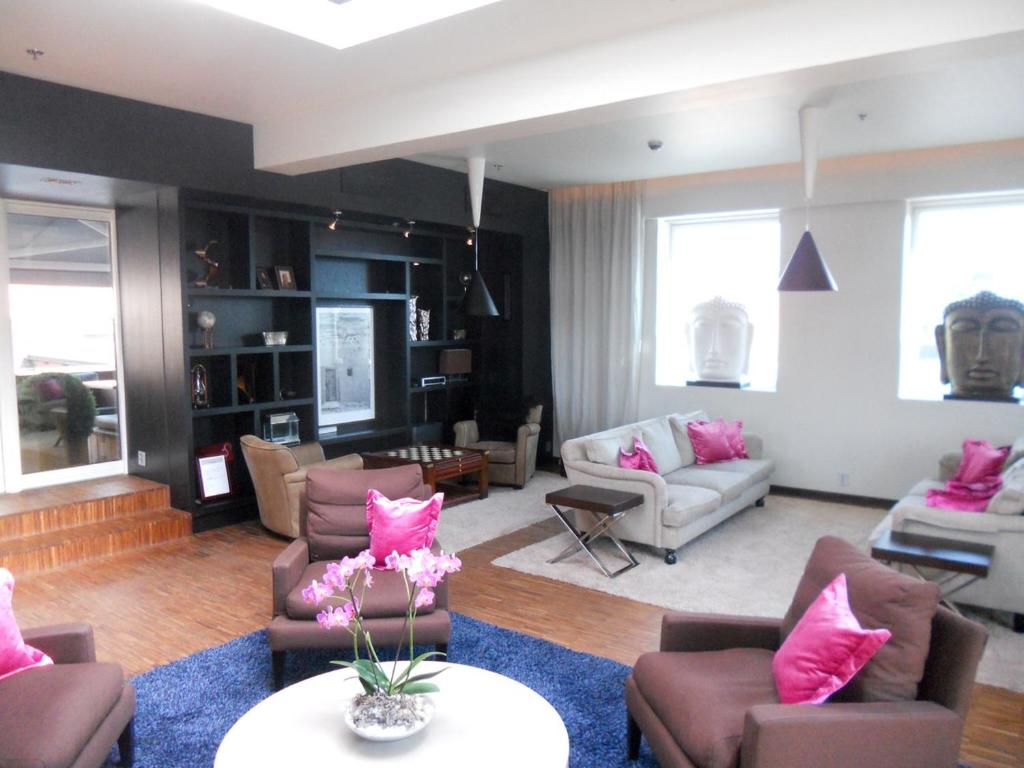 Zona de estar de Clarion Collection Hotel Folketeateret