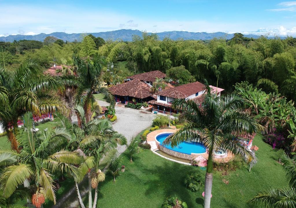 A bird's-eye view of El Percal Hacienda Hotel by DOT Tradition