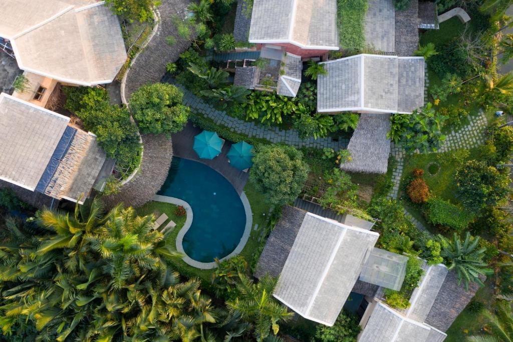 A bird's-eye view of An Villa