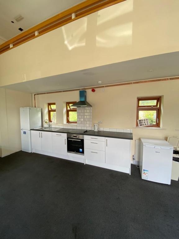 A kitchen or kitchenette at HS2 Contractors Accommodation