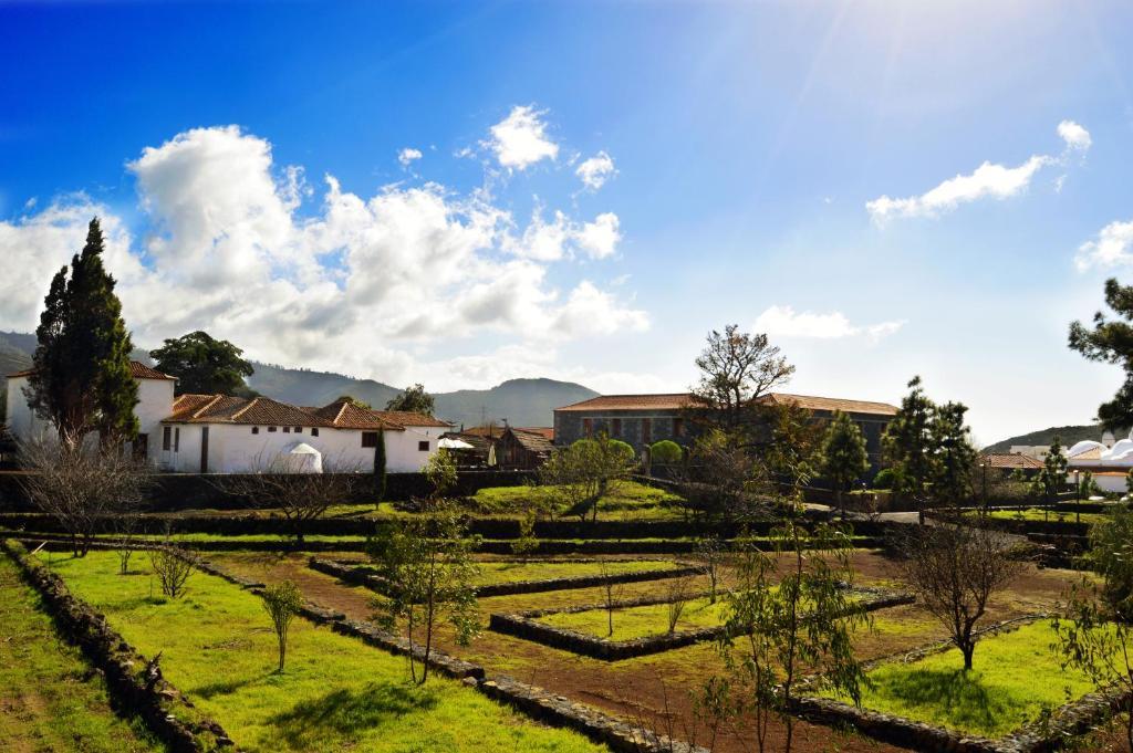Jardín al aire libre en La Casona del Patio
