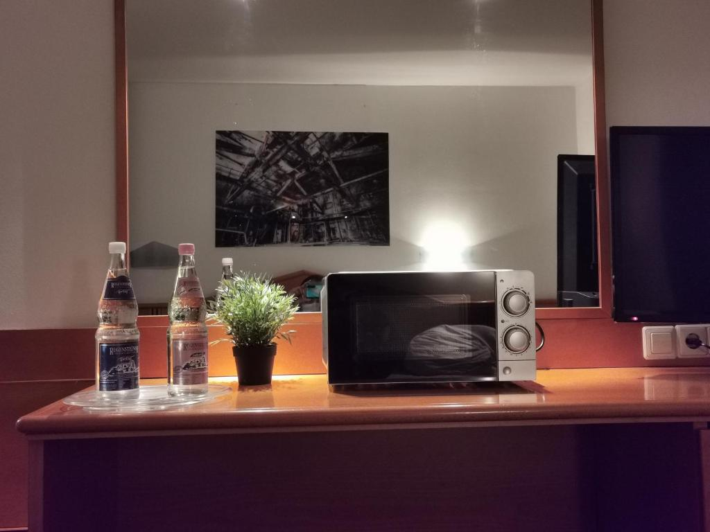 A television and/or entertainment centre at Palazzo Hotel
