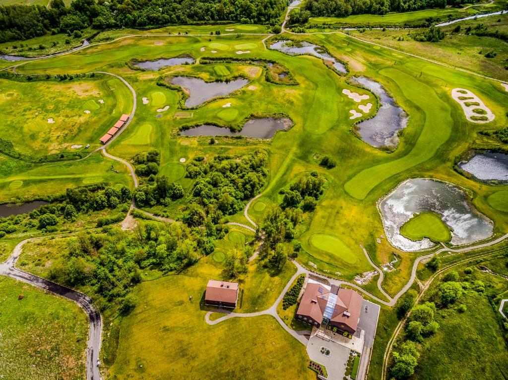 A bird's-eye view of National Golf Resort
