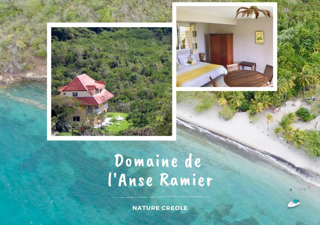 A bird's-eye view of Domaine de l'Anse Ramier