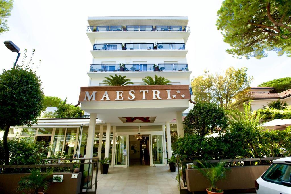 Hotel Maestri Riccione, Italy