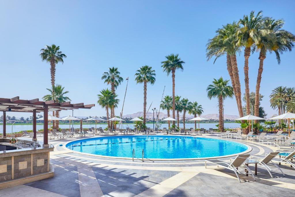 المسبح في Steigenberger Resort Achti أو بالجوار