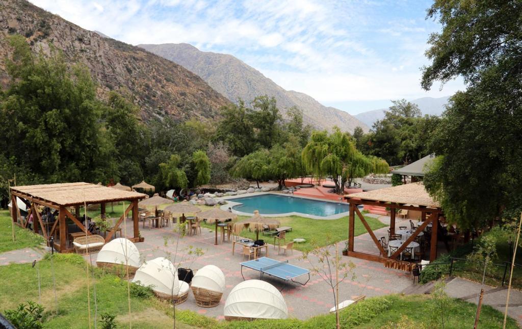 Vista de la piscina de SEL Lodge & Spa o alrededores