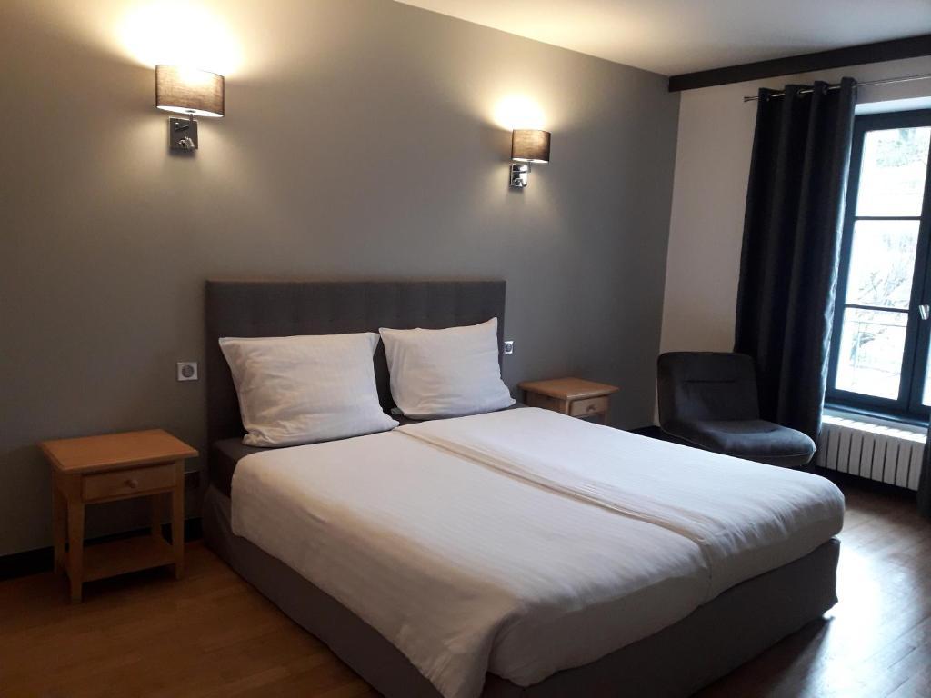 Un ou plusieurs lits dans un hébergement de l'établissement Hotel Pinocchio