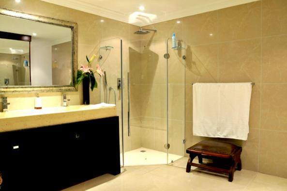 A bathroom at The Royal Quarter