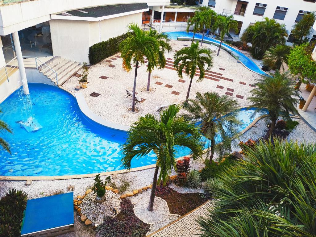 A view of the pool at Hotel Recanto Wirapuru or nearby