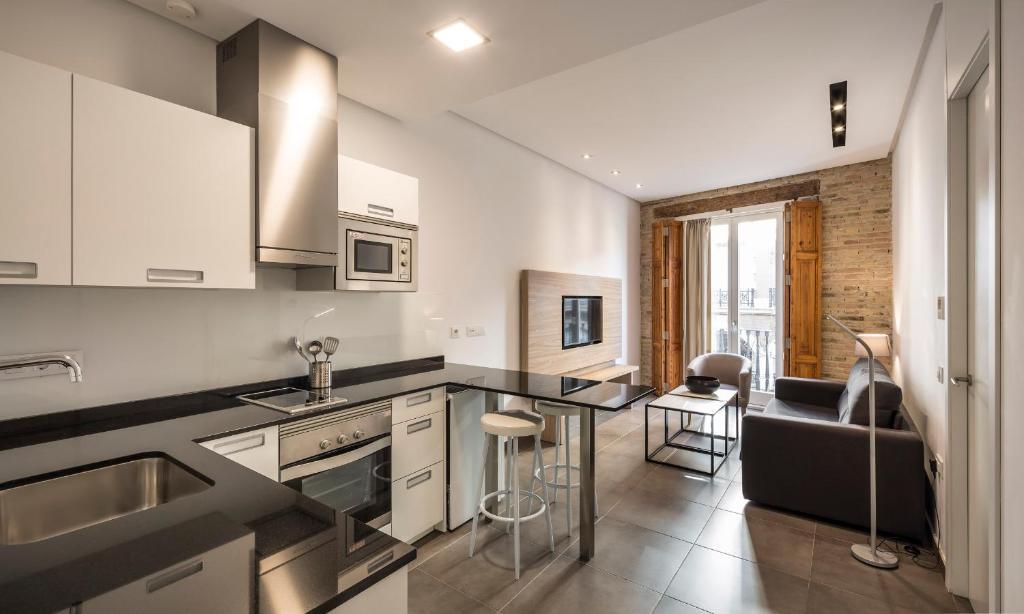 Cucina o angolo cottura di Mon Suites San Martin