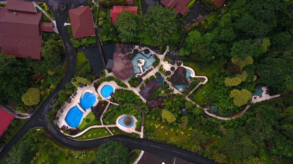 A bird's-eye view of Hotel Los Lagos Spa & Resort