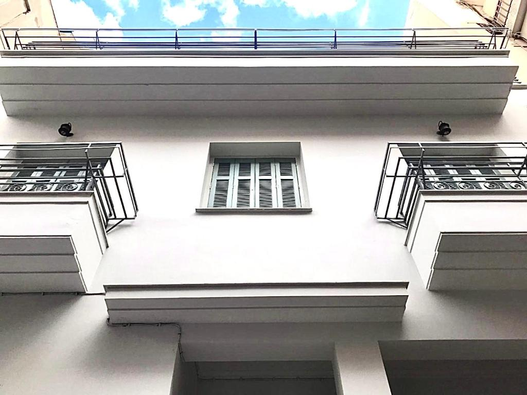 A balcony or terrace at Five Brand New Boutique Apartments Central Athens