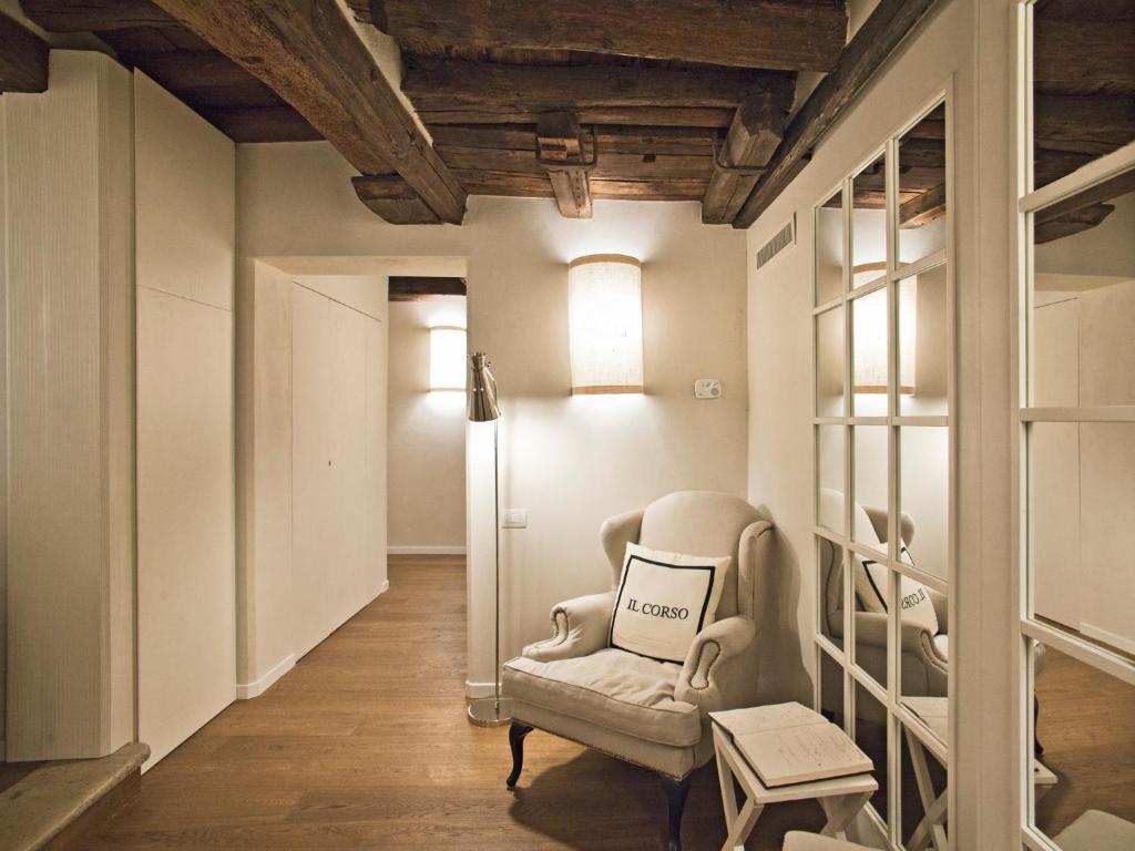 A seating area at B&B Il Corso
