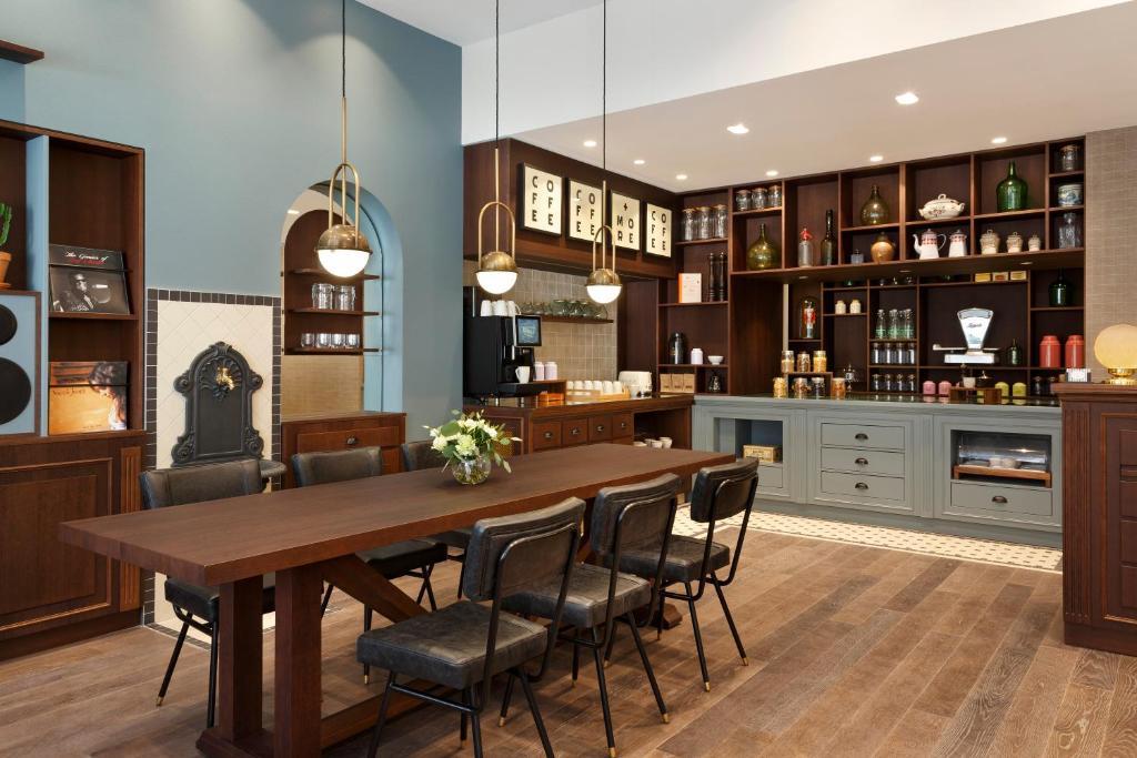 Salon ou bar de l'établissement Maison Barbillon Grenoble