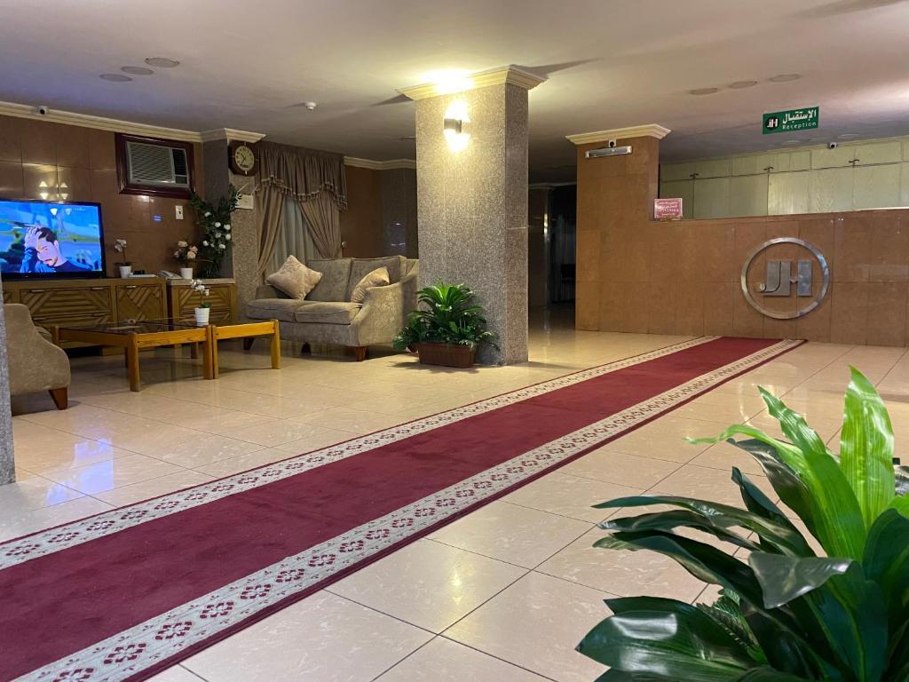 O saguão ou recepção de Jamjoom Hotel - فندق الجمجوم