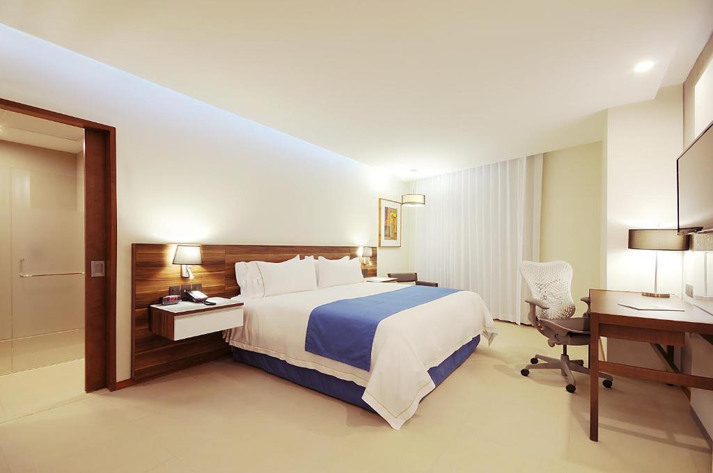 A room at the Holiday Inn Express Puerto Vallarta.