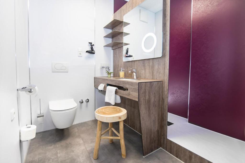 A bathroom at Hotel Wohnbar