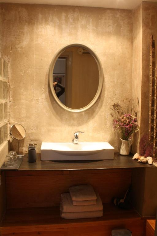 A bathroom at Casa Rural Usategieta