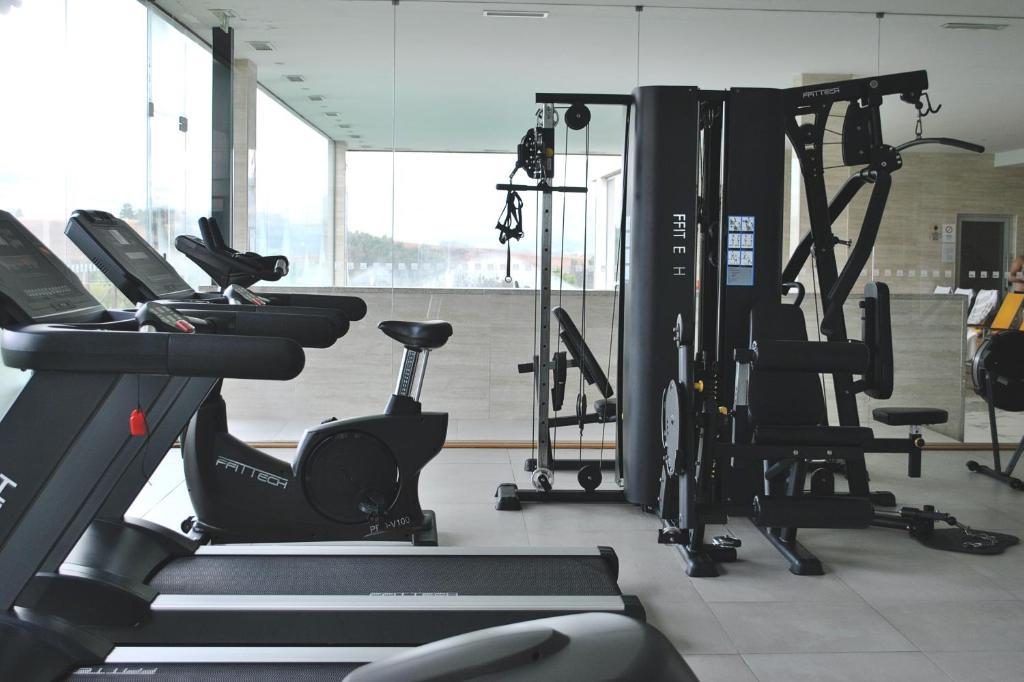 O centro de fitness e/ou as comodidades de fitness de Agua Hotels Mondim de Basto